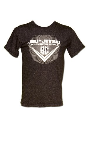 T-shirt Jiu-Jitsu All Over the World Chumbo - comprar online