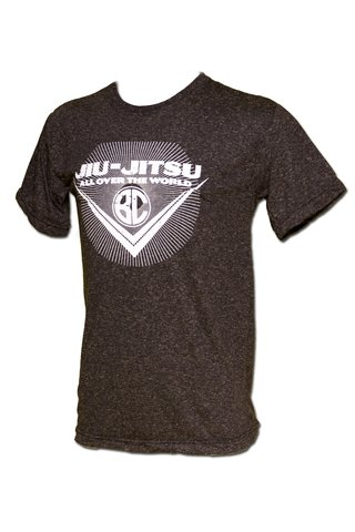 T-shirt Jiu-Jitsu All Over the World Chumbo na internet