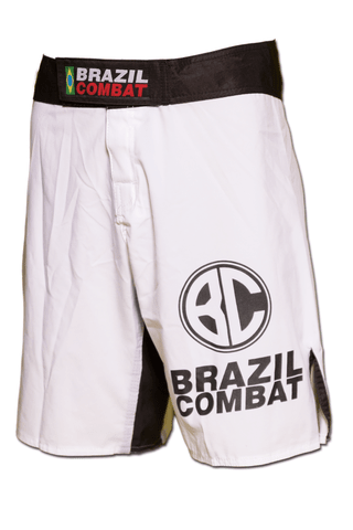 Grappling Short Basic IBJJF Branco - comprar online