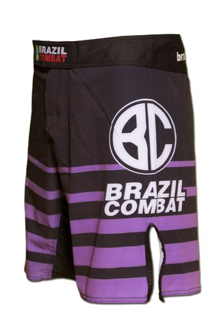 Grappling Short Shield IBJJF Preto e Roxa