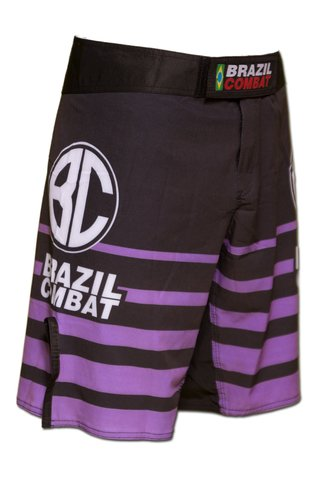 Grappling Short Shield IBJJF Preto e Roxa na internet