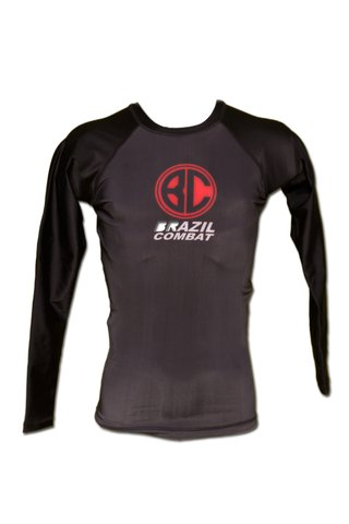 Rash Guard Red Shield ML Preta - comprar online