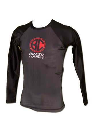Rash Guard Red Shield ML Preta na internet