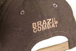 Boné Snap Back Recycle Brown - Brazil Combat
