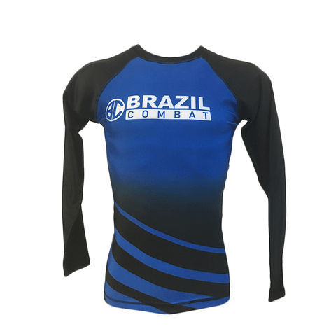 Rash Guard The Shield Azul Manga Longa - comprar online