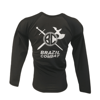 Rash Guard The Shield Marrom Mnaga Longa - loja online