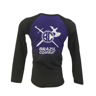 Rash Guard The Shield Roxa Manga Longa - loja online