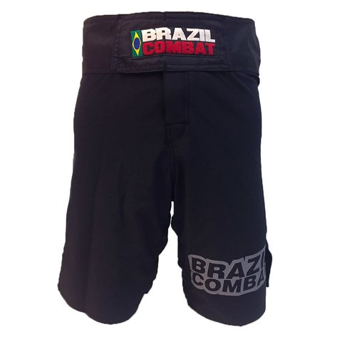 Grappling Short Basic IBJJF Preto