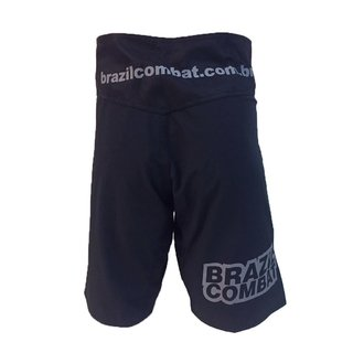 Grappling Short Basic IBJJF Preto - Brazil Combat