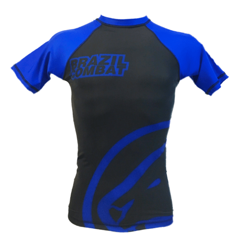 Rash Guard Jaguar Brazil Combat Azul na internet