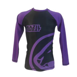 Rash Guard Jaguar Roxa