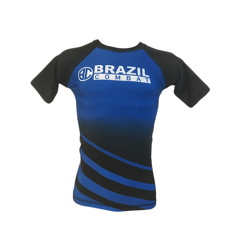 Rash Guard The Shield Azul Manga Curta na internet