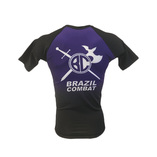 Rash Guard The Shield Roxa Manga Curta - loja online