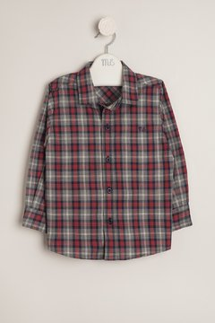 Camisa escocesa solo talle 3