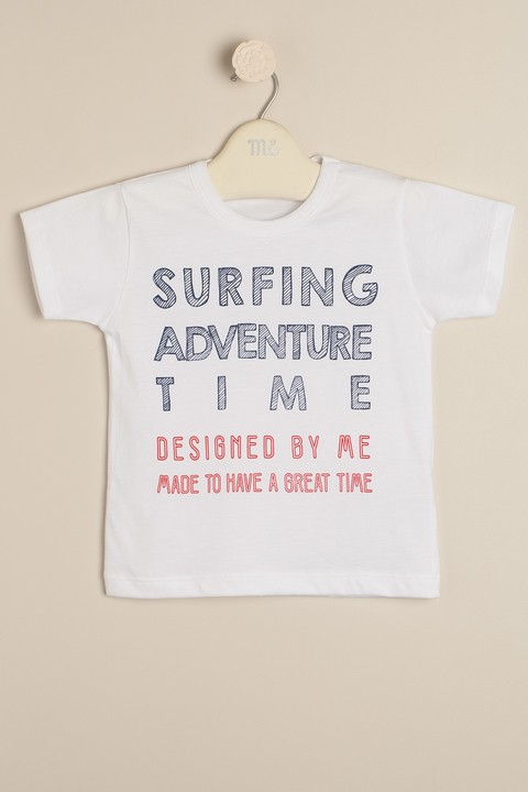 Remera estampada Surfing