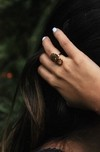 Ring Gold Pineapple-Mittu on internet