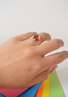 Ring Hexagonal - Carolina Zavala