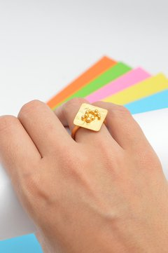 Ring dots Sustainable jewelry-Lecat