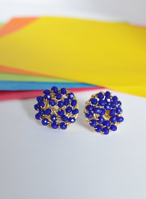 Earrings Blue - Carolina Zavala - buy online