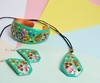 Necklace Mexican flowers Handmade-Artesano Currucutú - buy online