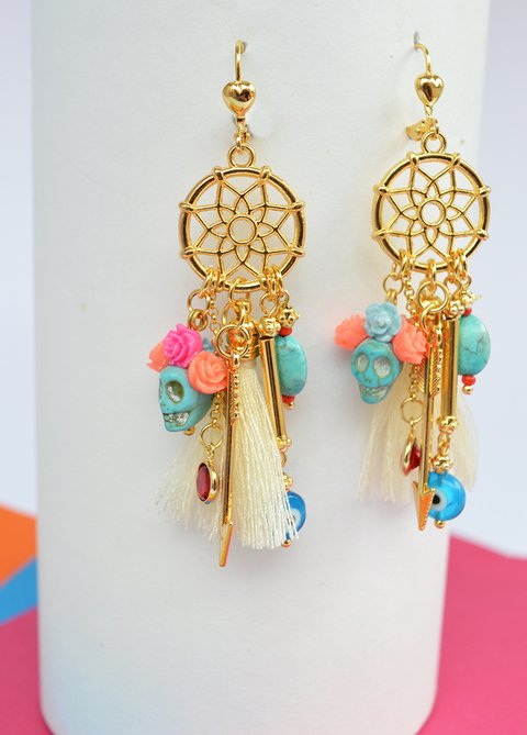 Earrings Dream catcher - Sublime Pulsión on internet