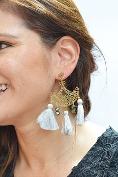 Earrings Halfmoon-Remembranza
