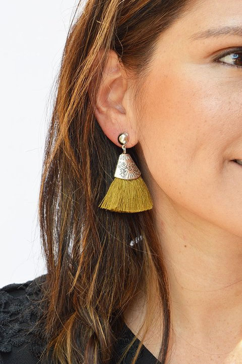 Earrings Triangle-Carol Sterling