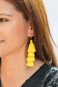 Earrings Tassels waterfall-Remembranza