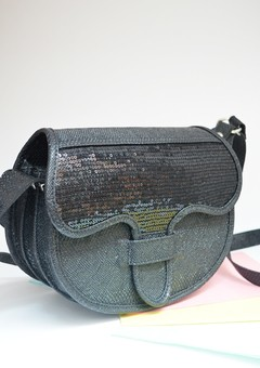Handbag Sequins Black carriel-Pagamento - buy online