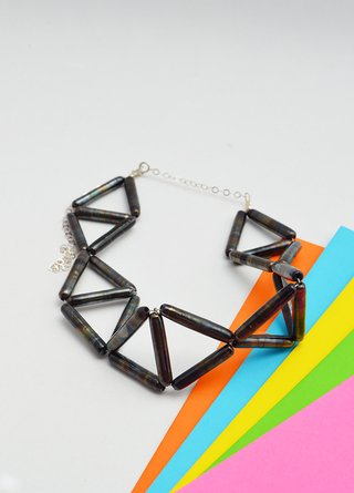Necklace Glass-Efecto Glass jewelry - online store