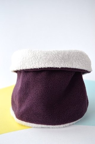 Thermal neck warmer basic colours plush-La Casa Jaguar - Currucutú|Accesorios latinoamericanos hechos a mano