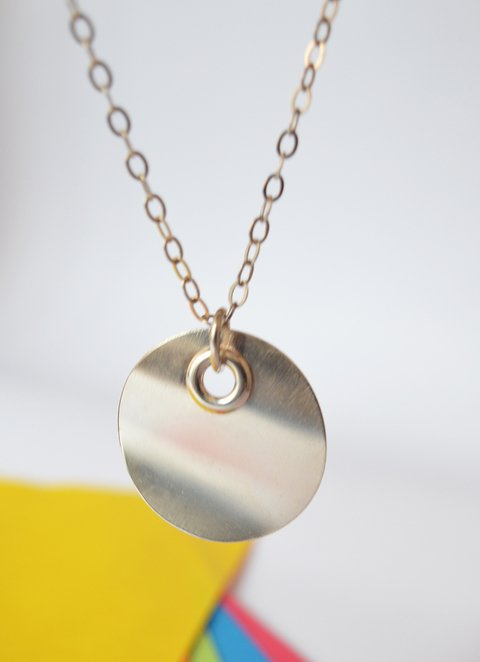 Necklace Circle inside - Carolina Zavala - buy online