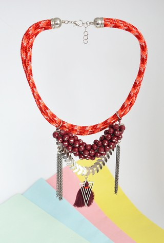 Necklace Pretty Bunch-Carol Sterling on internet