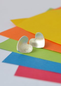 Studearrings Love - Tissu - buy online