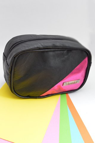 Make up case Black Pink-Bénieller