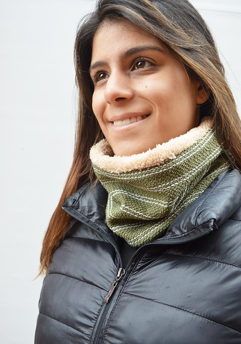 Thermal two side neck warmer - La Casa Jaguar