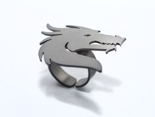 Ring Dragon's head-Donella - buy online