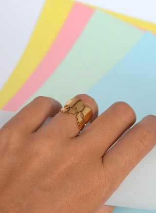 Ring Mini skulls-Donella - buy online