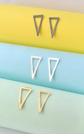 Earrings Triangle-Donella - buy online