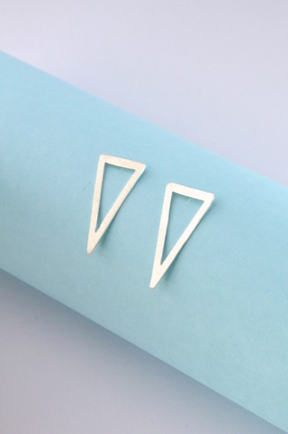 Earrings Triangle-Donella - online store