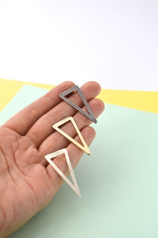 Earrings Triangle-Donella on internet