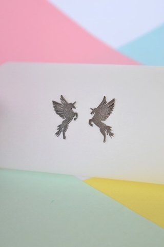 Stud earrings Pegasus-Donella on internet