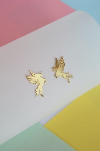 Stud earrings Pegasus-Donella - online store