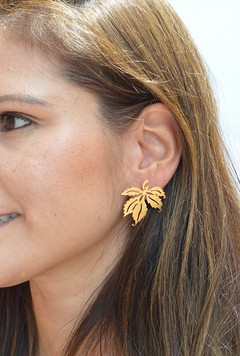 Earring Palmeados-Donella
