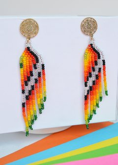 Earrings Multicolor-La Chocoanita - online store