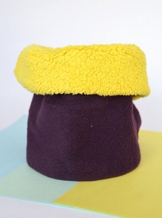 Thermal neck warmer bright colours plush-La Casa Jaguar