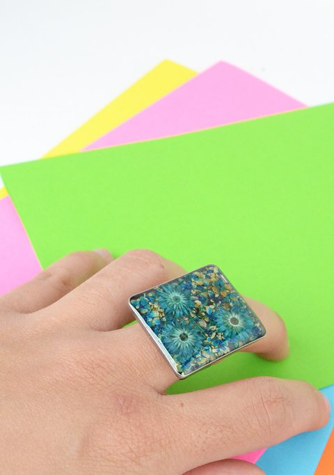 Ring Rectangle-Floresse