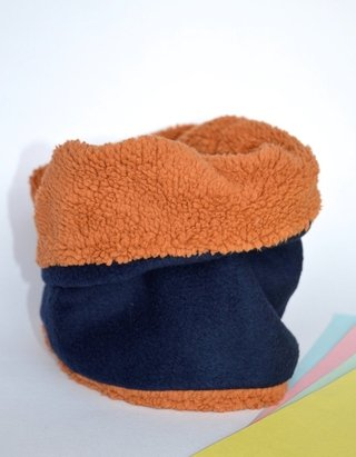 Thermal neck warmer bright colours plush-La Casa Jaguar - Currucutú|Accesorios latinoamericanos hechos a mano