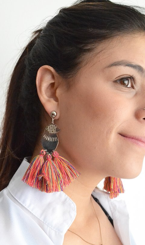 Earrings Birds-Remembranza