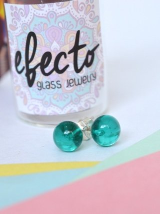 Earrings Maxi glass drops-Efecto Glass Jewelry